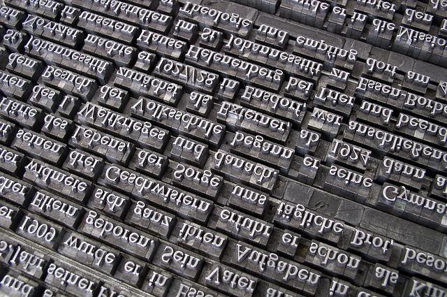 英語のローマ字