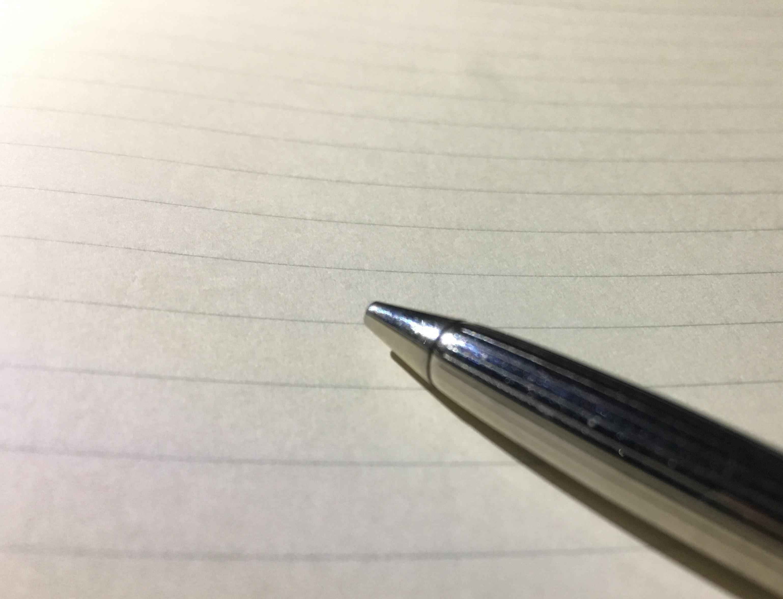 「書く」のイメージです(自作)