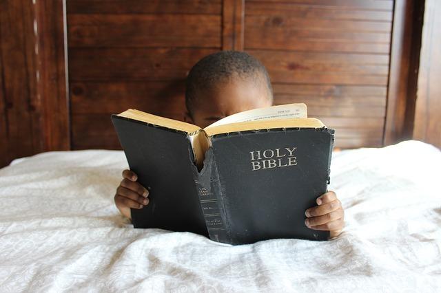 本を読んでいる少女