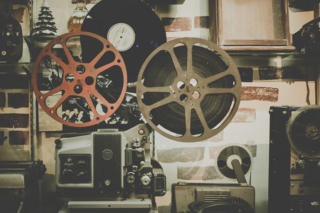 映写機の写真です。