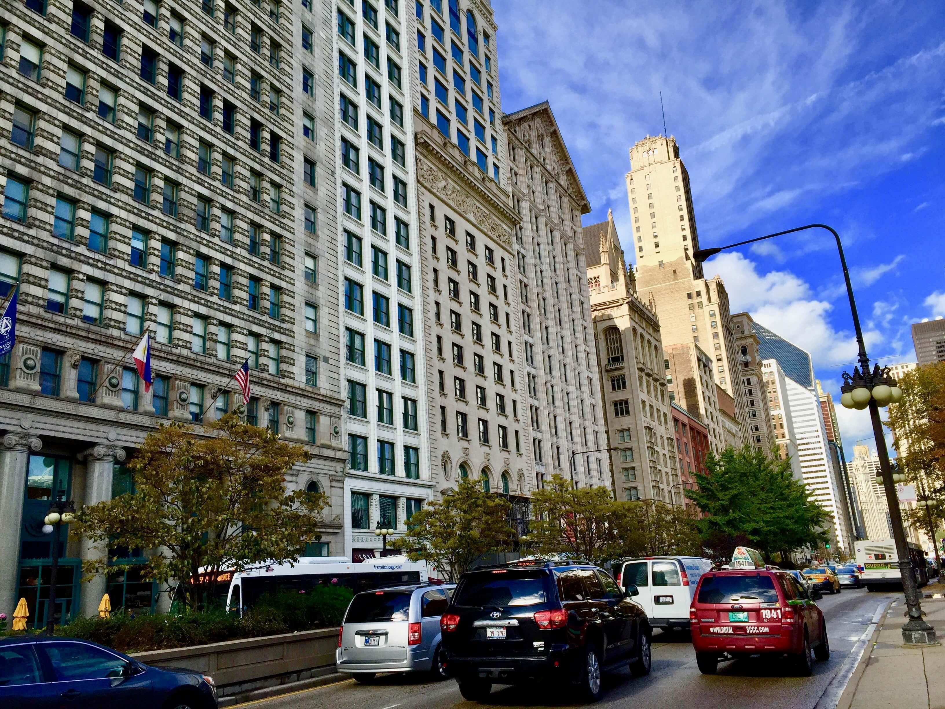 シカゴの風景