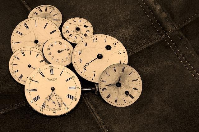 時計の文字盤のイメージです