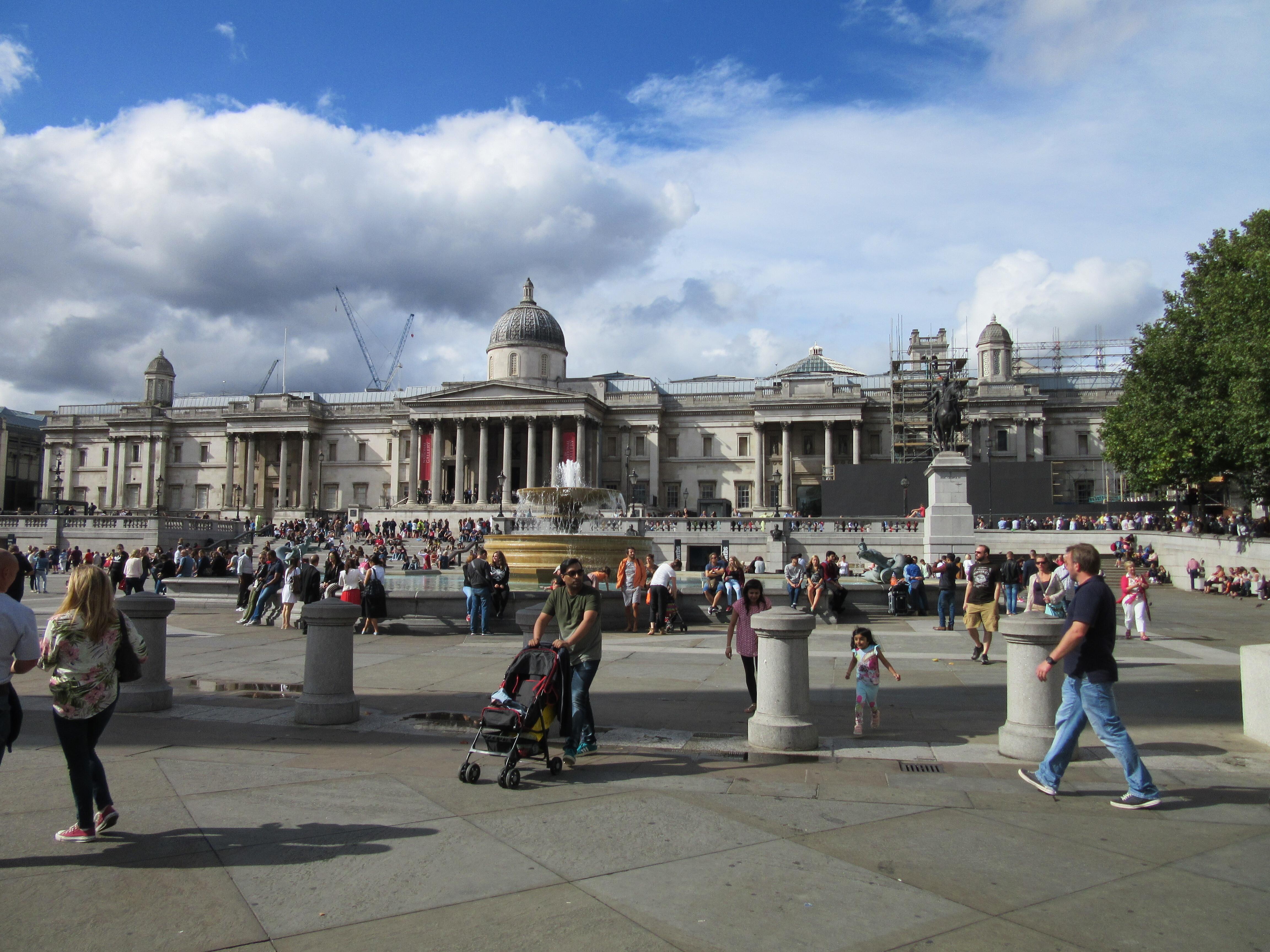 ロンドン・トラファルガー広場