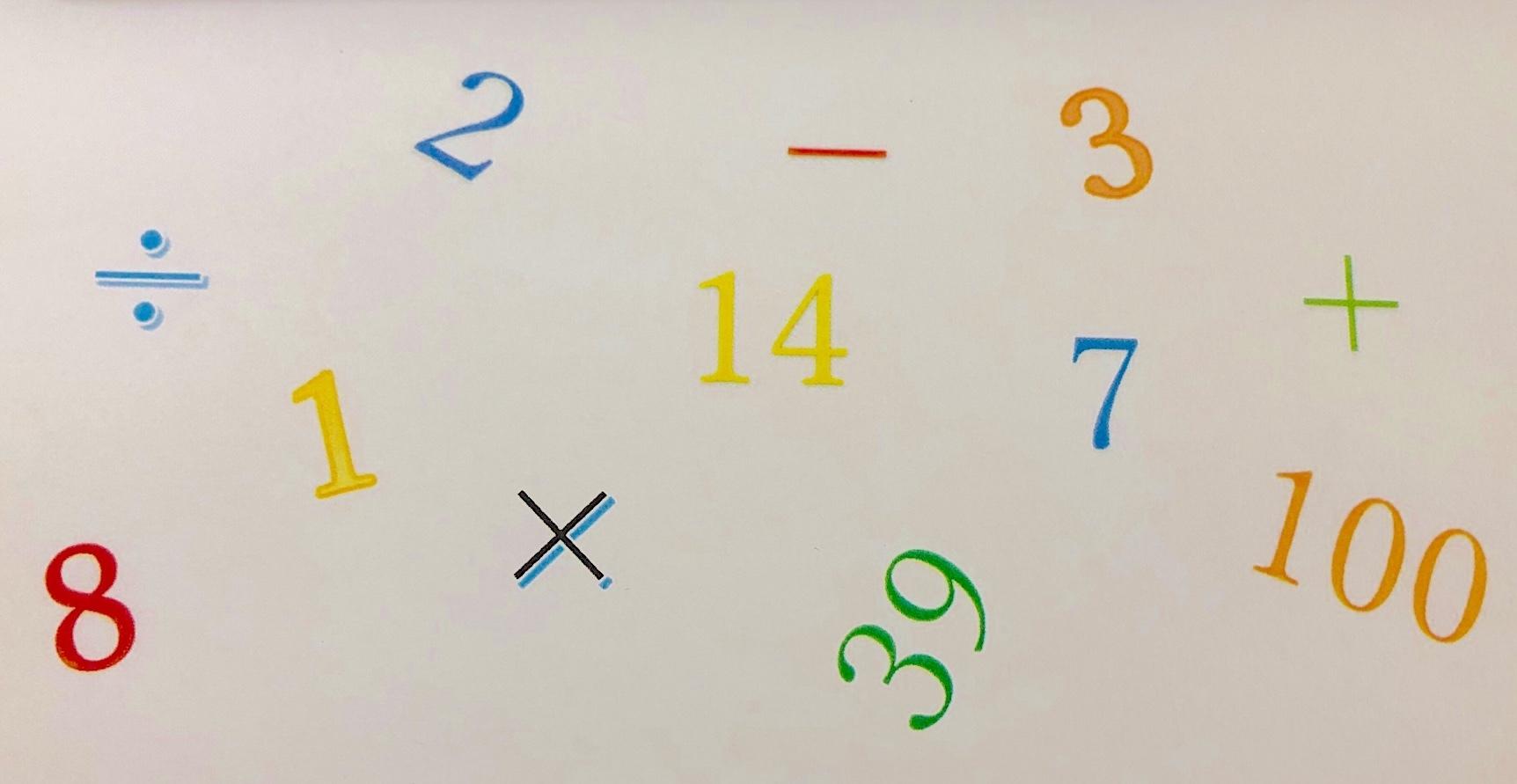 数字や記号(自作)