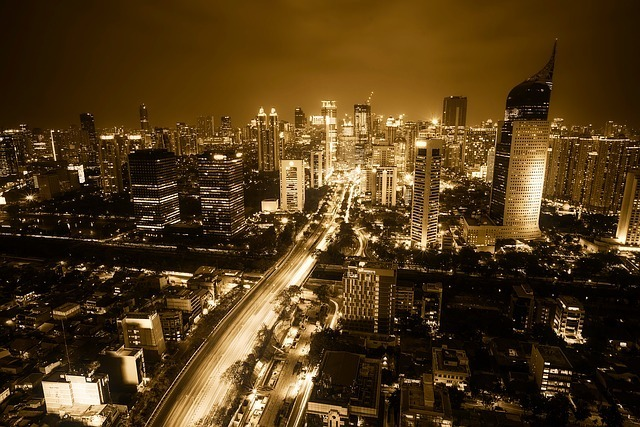 ジャカルタの夜景の写真