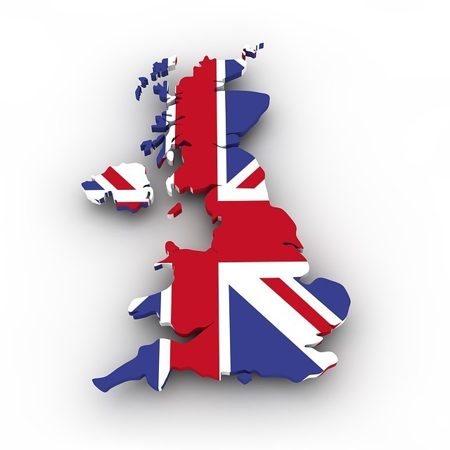 イギリスの国土と国旗