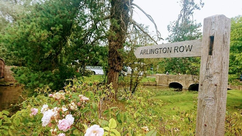 Arlington Row Sign