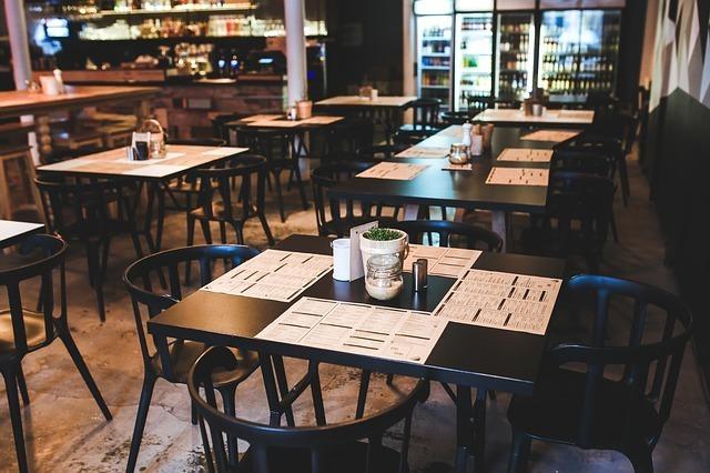 レストランの店内の写真