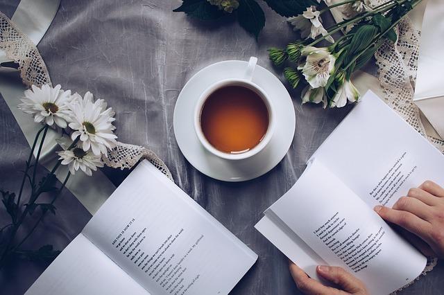コーヒーと英語の本