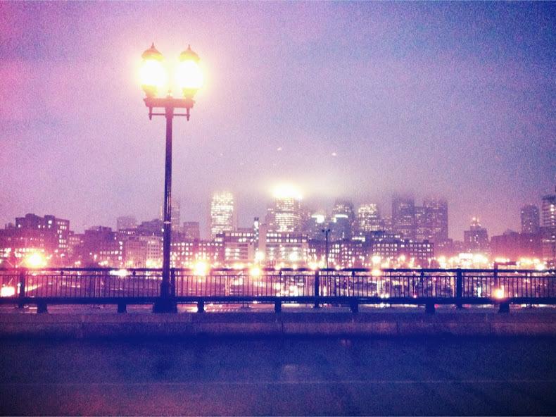 Boston夜景