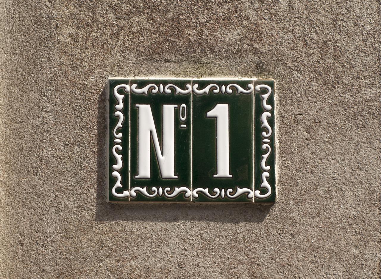 番号1の写真 Number One