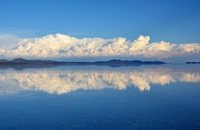 感動する風景 ウユニ塩湖