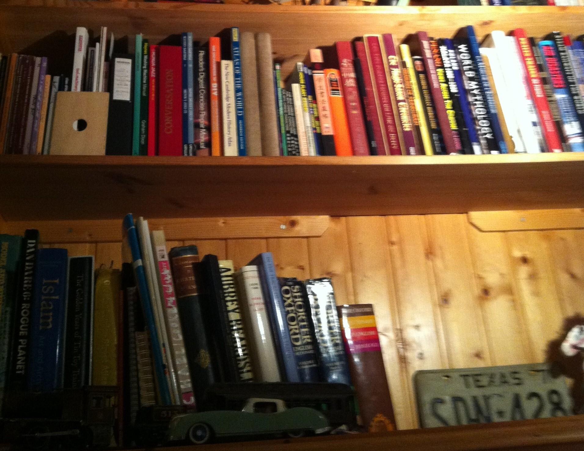 bookshelf、本棚