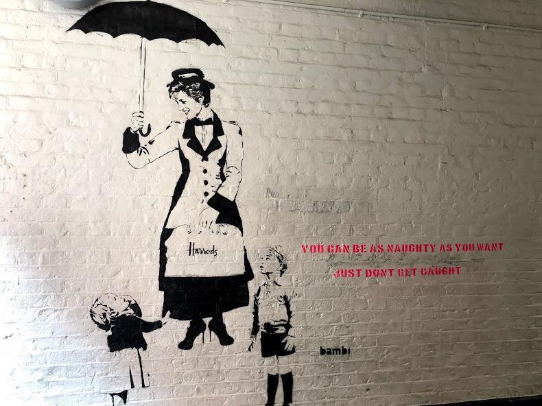 banksy、バンスキーの絵