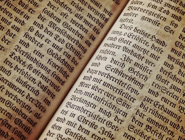 英語で書かれた書籍の写真