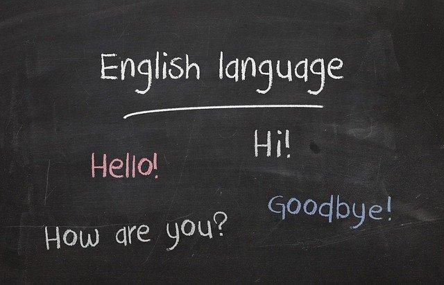 English language,hi!,hello!,how are you?, goodbye!