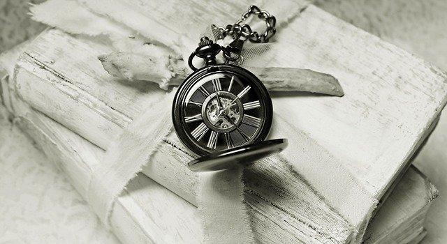 時計と古本