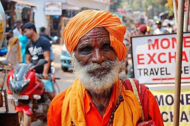 インド人の男性のポートレート