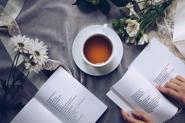 コーヒーと英語の文章