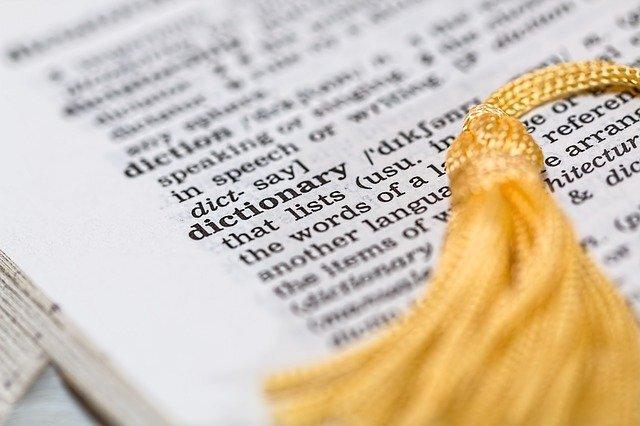 英語辞書の画像