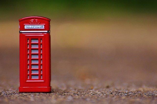 ロンドン電話ボックス
