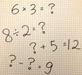 掛け算の英語表記・読み方|割り算などその他の四則演算もまとめて紹介!